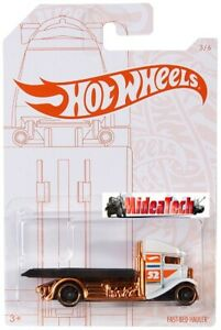2020-Hot-Wheels-52nd-Anniversary-Pearl-amp-Chrome-Series-Fast-Bed-Hauler