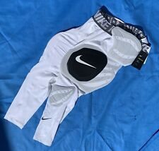 NWT Nike Football Men/'s Pro Hyperstrong Hard Plate 3//4 Tights Pants Padded