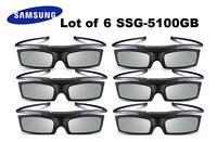 Lot Of 6 Samsung 4k Hd Uhd Suhd 3d Active Tv Glasses Ssg-5150gb Ssg-5100gb