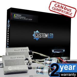 35w-H10-6000k-Smart-Canbus-Xenon-Slim-HID-Kit-Metal-Bulbs-100-Error-Free