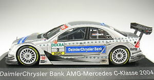 Minichamps-AMG-MERCEDES-BENZ-C-CLASS-DTM-2004-Albers-NUOVO-IN-SCATOLA-ORIGINALE-1-43