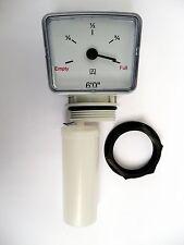 BEHÄLTER SCHWIMMER MESSGERÄT 1,8 m Öl/Wasser. Kommt mit einem 1.1/2 spannmutter
