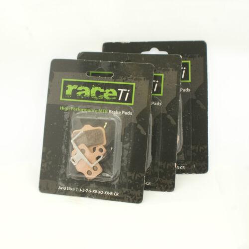 Avid Elixir 1-3-5-7-R-CR-Carbon-X9-X0-XX Disc Bremse Bremsbeläge-gesintert Hard