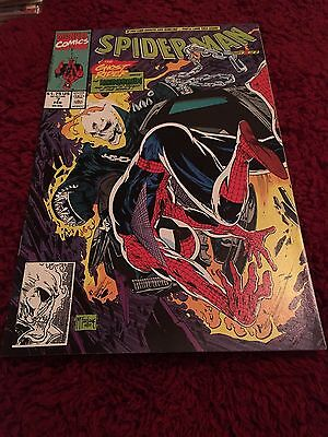 NM Spider-Man #7 February 1991 Marvel Spiderman Comic Book