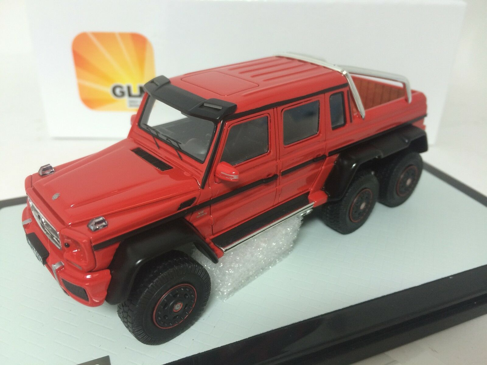 1/43 GLM Mercedes-Benz AMG G63 6X6 Red GLM43203804