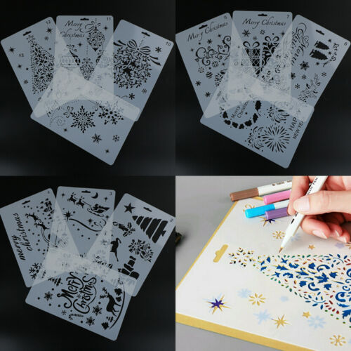1Pc//Set Layering Stencils Template For Wall Painting Scrapbooking Stamping FO