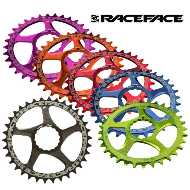 New Race Face Cinch Direct Mount Narrow-Wide 26T Red 10s//11s Chainrings