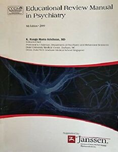 Details about Educational Review Manual in Psychiatry, 6th Edition, by  Ranga Rama Krishnan