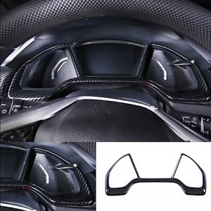 For Honda Civic 16-2020 Carbon Fiber Style Interior Dashboard decor frame Trim