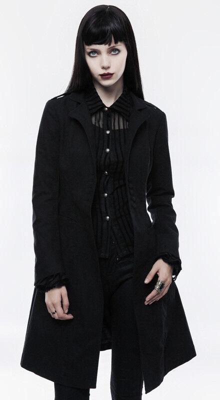 Veste Femmeteau cintré évasé gothique punk lolita lolita lolita fashion plissé classe PunkRave f5b728