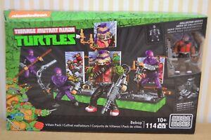 Aimable Méga-bloks Teenage Mutant Ninja Turtles Bebop Villain Pack Dmw29