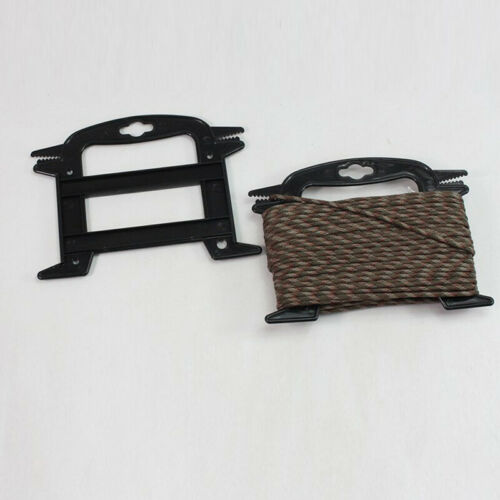 Outdoor Rope Plastic Winder Spool Cord Tidy Organizer Holder Bushcraft Survival