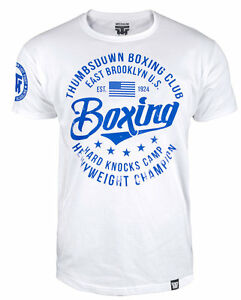 Details about T-SHIRT MMA BOXING HARD KNOCKS CAMP BROOKLYN USA FOR BOXER  TRAINING CASUAL WEARS
