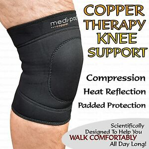922df56d759 Image is loading Copper-Infused-Knee-Compression-Support-Sleeve-Brace-Sore-