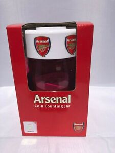 Arsenal-Counting-Coin-Jar-Arsenal-Money-Box-Ideal-Football-Gift
