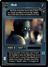 Greedo [Near Mint/Mint] A NEW HOPE LIMITED BB star wars ccg swccg