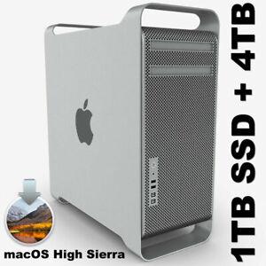 Apple Mac Pro 5.1 12-Core 2012 3.46GHz Mémoire RAM 128 Go 5770 1 Go de stockage 4 To + 1 To SSD