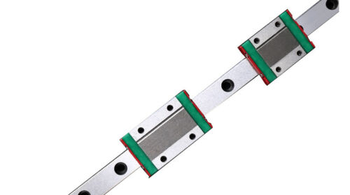 Miniature 100-450mm MGN9R Rail Guide+2pc MGN9C Linear Block for 3D Printer Kit