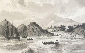 Poynésie Islands Marquesas Nouka Hiva Nuka Hiva Marquesas 1838 Sailboat Verne