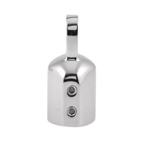 4 x Eye End Cap Bimini Top Fitting Hardware 1/'/' Marine Grade Stainless Steel