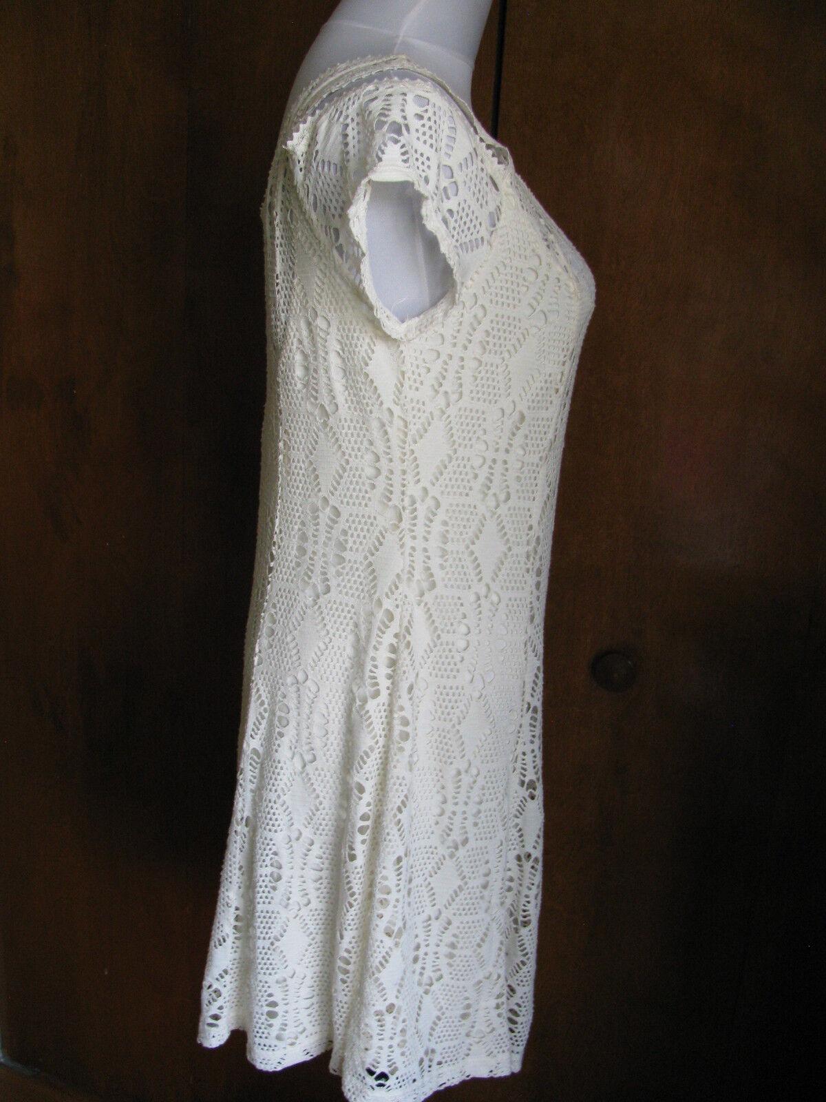 Free People women's ivory ivory ivory stylish NWT dress Size Medium Large 895a6d
