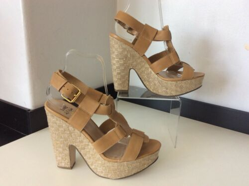 Tan Sandals £80 Leather Shoes Kurt 6 Rrp Kg 40 By Size Uk Geiger 5 Miss 6w0RIqn
