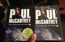 PAUL MCCARTNEY SIGNED THE SPACE WITHIN US LIVE DVD THE BEATLES 100% GENUINE!