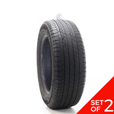 Set Of 2 Used 23560r18 Michelin Latitude Tour Hp 103v 65 732 Fits 23560r18