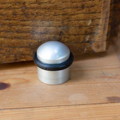 Bodentürstopper zur festen Bodenmontage Türstopper Türpuffer aus Alu