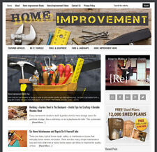 Home Improvement Blog Website Business For Sale With Auto Content Updates