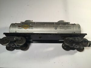 Lionel-O-Gauge-6465-Sunoco-Double-Dome-Tank-Car