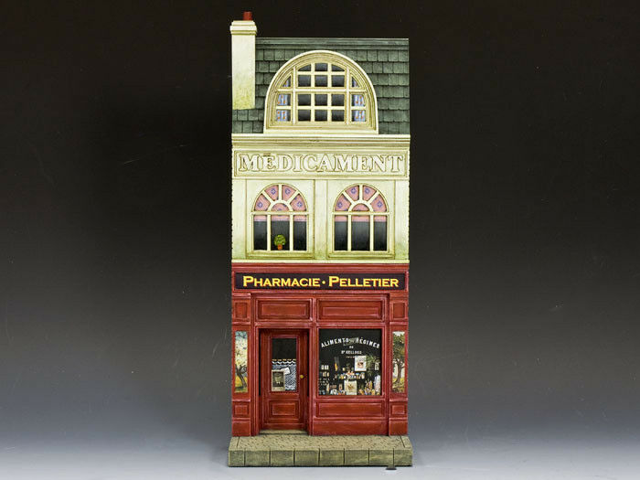 KING AND COUNTRY SP050 SP50 FRENCH PHARMACIE PHARMACY FACADE 1 30 SCALE