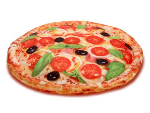 Pizza Oreiller Coussins Pizza-CARTON PIZZA Boîte 37 cm PIZZA tomate
