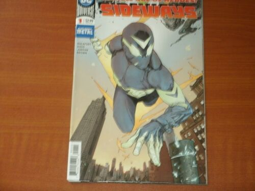 "DC Comics /""The New Age of Heroes/' Sideways de nuits sombres métal"