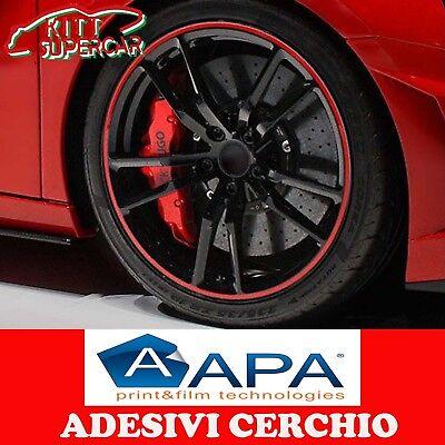 ADESIVI PER CERCHI AUTO /& MOTO CERCHIONI Bordo Adesivo adesivi CERCHI auto e moto PER CERCHI DA 10