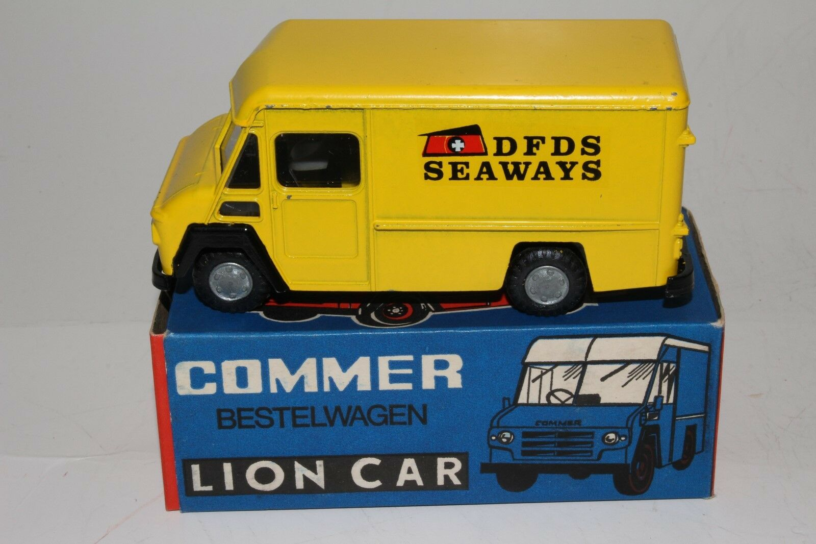 consegna lampo Lion auto, Commer Delivery Van, DFDS Seaways, Seaways, Seaways, with Original scatola, Nice  moda