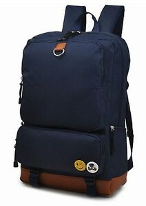 Backpack Daypack Carry-on Meite Boshi School Bag Navy Blue Hi-Quality