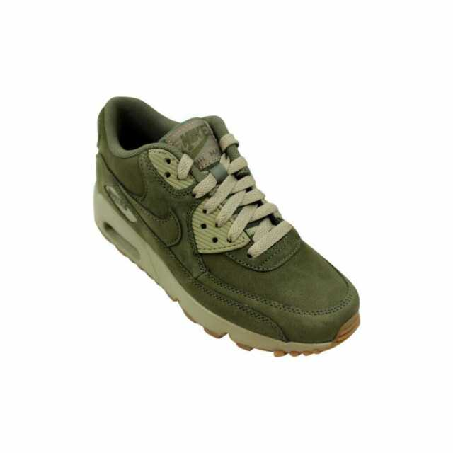 Nike Air Max 90 Winter Premium Big Kids 943747 200 Medium Olive Shoes Size 4