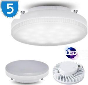 5x-Lampe-Circulaire-Remplacement-Clair-GX53-Ampoule-Cfl-Eclairage-240V