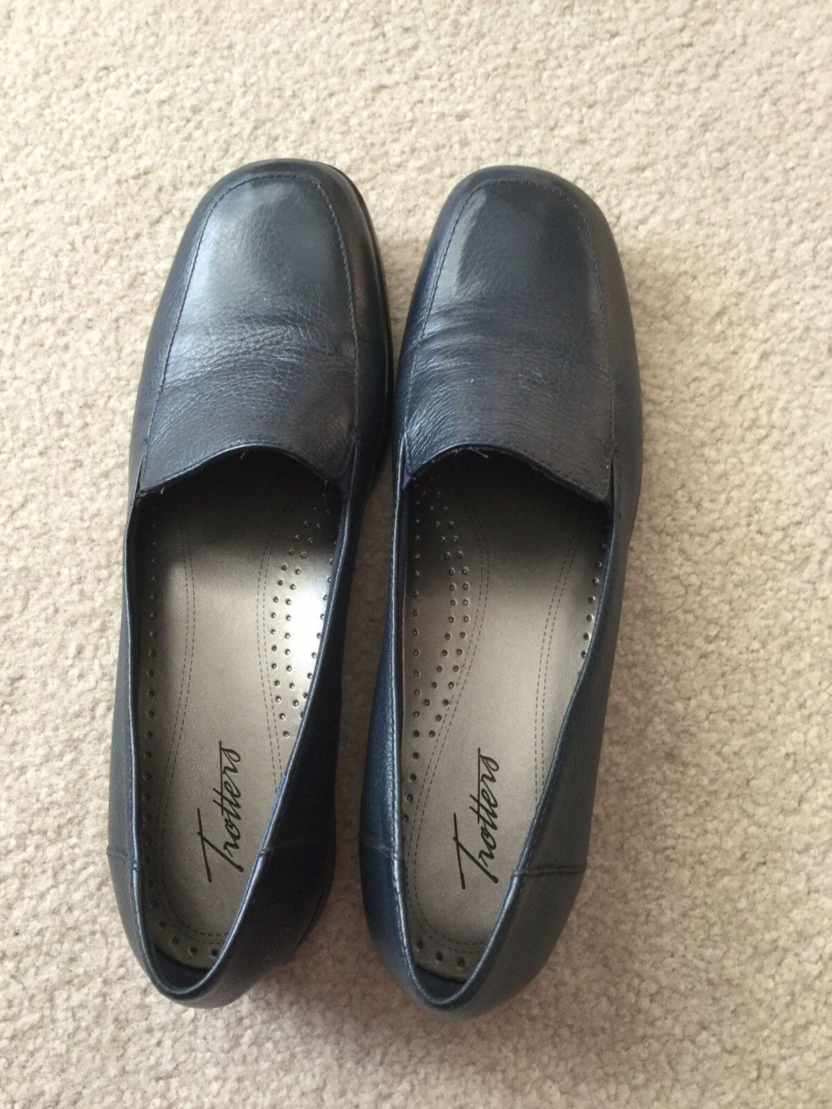 Tredters womens womens womens navy shoes size 11S f6667e