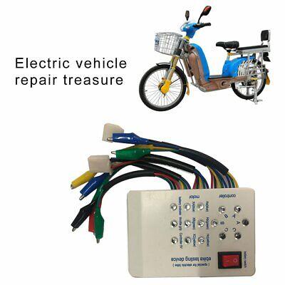 1pc 24V//36V//48V//60V//72V Electro Car E-bike Scooter Brushless Motor Tester