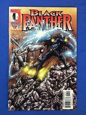 BLACK PANTHER #4 MID/HIGH GRADE 1ST APP WHITE WOLF WINTER SOLDIER MARVEL  COMIC | eBay