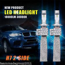 2x CREE 180W 18000LM H7 LED Headlights Bulbs Conversion Kit Low Beam PK 120W 80W