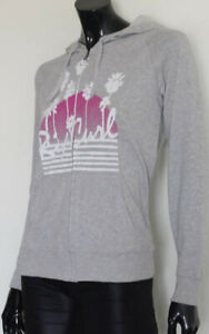 Rip-Curl-Ladies-Zip-Up-Pullover-Hoodie-Jumper-size-8-New-with-Defects