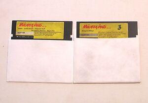 Microzine-25-by-Scholastic-for-Apple-II-Plus-IIe-IIc-IIGS-Cosmic-Heroes