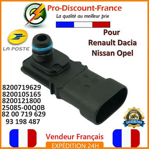 2019 Nouveau Style Capteur Pression Admission Pour Renault Dacia Nissan Opel 8200719629 8200105165