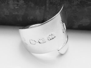 CHUNKY-GEORGIAN-SOLID-STERLING-SILVER-SPOON-RING-APPROVED-SIZES-O-P-Q-R
