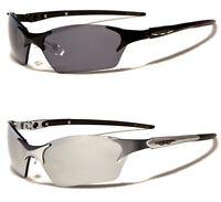 NEW X LOOP SPORT MENS WOMENS METAL RIMLESS DESIGNER WRAP SUNGLASSES UV400