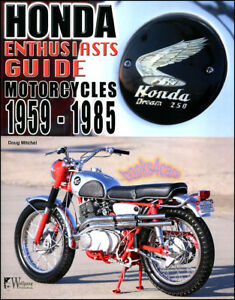 Details about HONDA ENTHUSIASTS GUIDE BOOK MOTORCYCLES HISTORY MODEL BUYERS