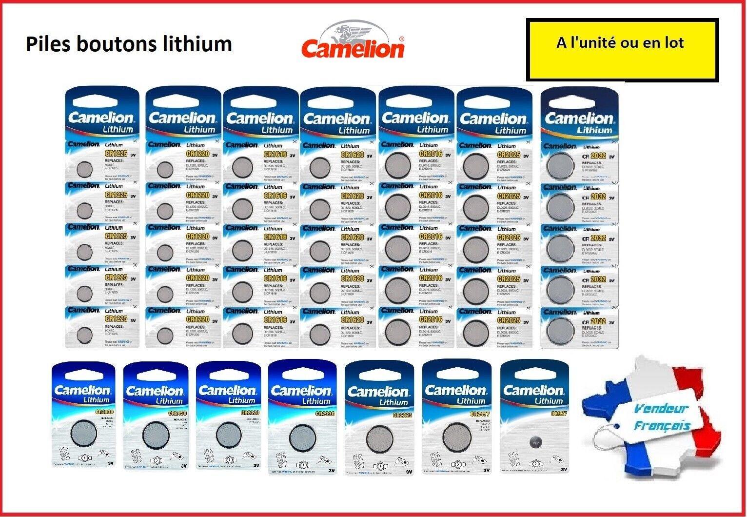 Button Batteries Lithium Camelion CR2430,CR2450,CR2330, CR2325,CR2320,CR927,